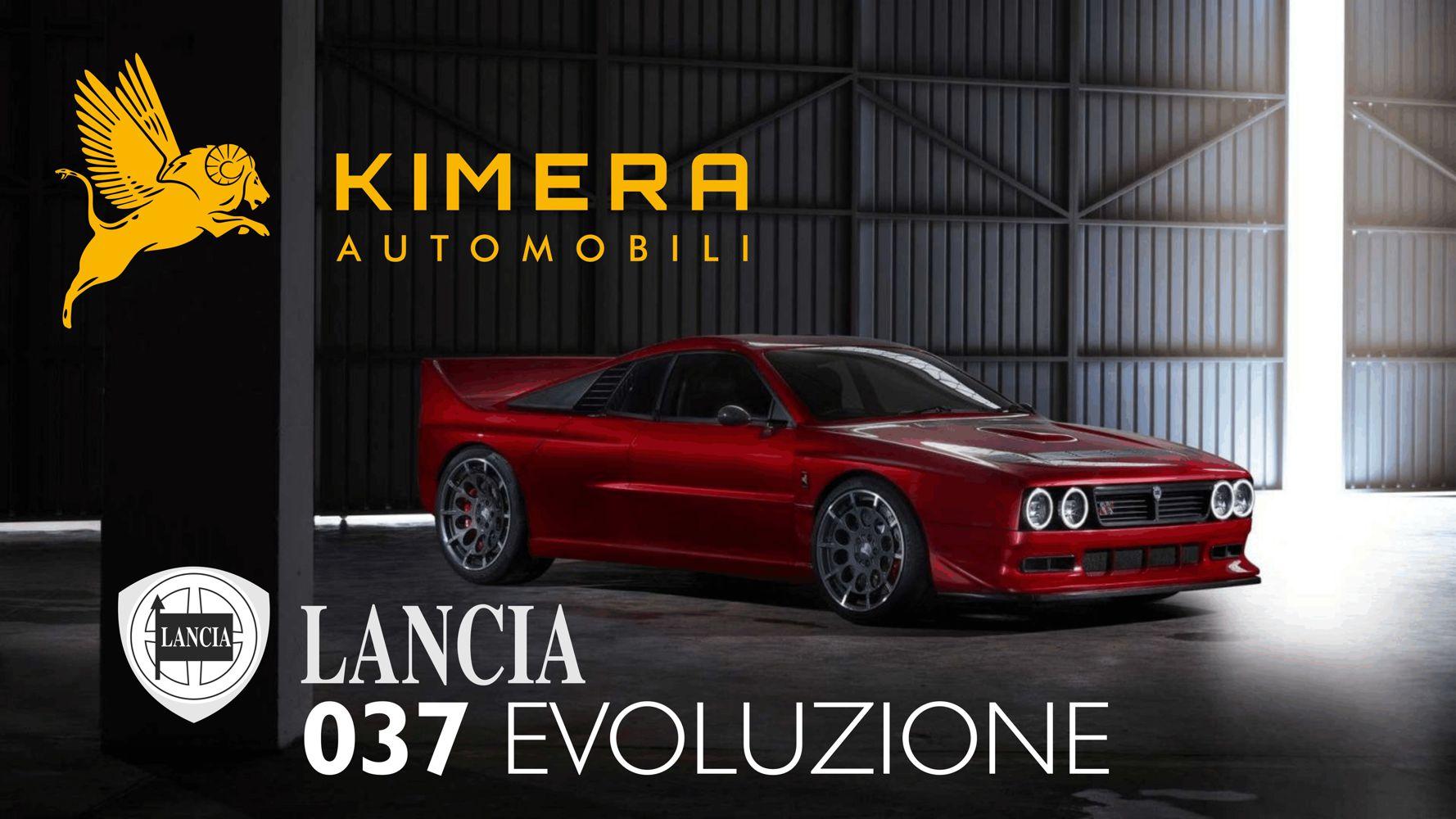 Kimera Automobili Lancia 037 Evoluzione